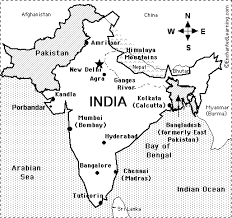 asia map coloring page gandhi enchantedlearning com