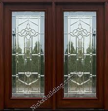 Double Glass Door by Double Door Door With Glass French Door Patio Door Fancy