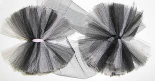 tulle hair bows tutorial how to make tulle puff hair bows hip girl boutique llc