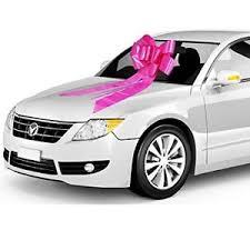 car ribbon large car bow ribbon big s gift pink wedding