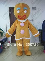 Halloween Costumes Gingerbread Man Cheap Gingerbread Man Costume Aliexpress Alibaba
