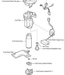 2005 toyota corolla fuel filter solved where is the fuel pressure regulator located on a fixya