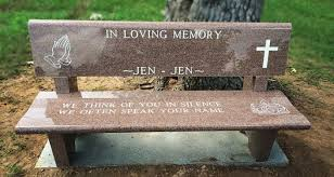 cremation benches benches gravestone care