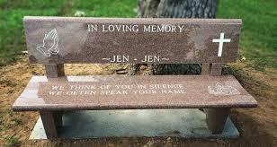 benches texas gravestone care