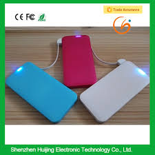 list manufacturers of portable mobile chargerbattery