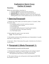 quote in essay mla quotations in essays examples pollution essay writing using
