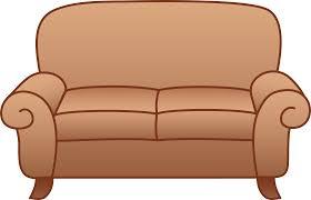 Holiday Living Room Clipart Sofa Clipart Clipartbarn