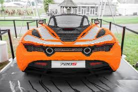 lego mclaren we would walk barefoot across lego pieces for this mclaren 720s
