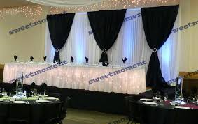 Curtain Drapes For Weddings Online Get Cheap Wedding Backdrop Wedding Curtain Drape Chiffon