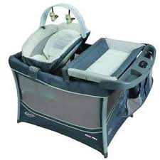Graco Pack N Play Bassinet Changing Table Graco 3 In 1 Pack N Play W Bassinet Changing Station Open