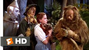 the cowardly lion the wizard of oz 6 8 movie clip 1939 hd