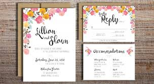 diy wedding invitation pink flowers wedding invitation suite printable wedding