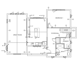 sample home electrical plan home plan