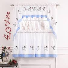 Kitchen Curtain Design Lovable Christmas Curtain Designs Home Designing