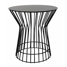 Drum Side Table Drum Side Table In Mild Steel Clever Monkey
