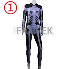 womens skeleton jumpsuit skeleton unitard jumpsuit sleeve s costume