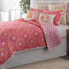 Cotton Quilted Bedspread Dream Nest Cotton Quilt Bedding By Dena Home