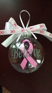 25 best breast cancer christmas ornaments images on pinterest