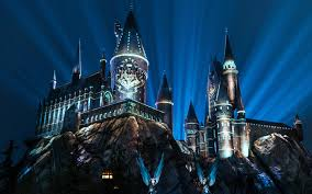 harry potter night light the new nighttime light show at the wizarding world of harry potter