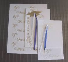 graduation cap invitations 1706 25 count graduation tassel and cap design invitation