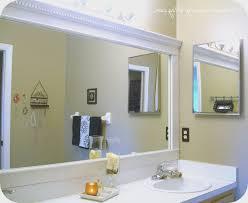 bathroom bathroom mirror frames kits home design new excellent