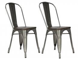 iron dining chair metal dining chairs elegant dorel fusion antique gunmetal metal