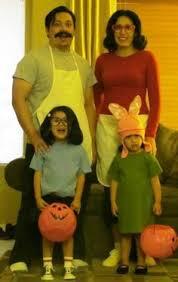 Rumpelstiltskin Halloween Costume Bob U0027s Burgers Family Halloween Costume Halloween