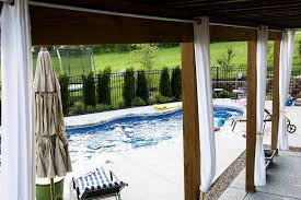 outdoor patio curtains rods awesome outdoor patio curtains