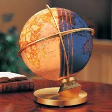 day and night illuminated desk globe national geographic store