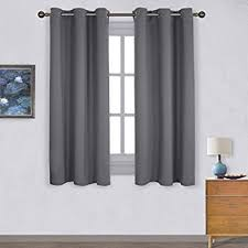 Black Curtains For Bedroom Blackout Curtain Blind For Bedroom Nicetown Thermal