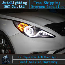 2011 hyundai sonata headlights car styling for hyundai sonata led headlights 2011 2014 s type
