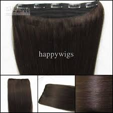 one clip in hair extensions cheap one clip in human hair extensions 2 16 20 24inch 5