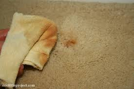 How To Get Dry Stains Out Of Carpet How To Remove Rust Stains From Carpet