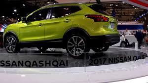 nissan toronto 2017 nissan qashqai sl awd with platinum package at toronto youtube