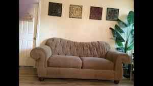 Diamond Tufted Sofa harvertys tufted sofa youtube
