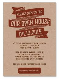 open house invitation business event invitations open house by green business print