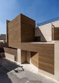 rivestimento facciate in legno facciata in legno e travertino per il progetto di bracket design