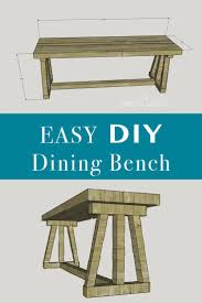 make your own dining room table best 25 dining bench ideas on pinterest bench for dining table