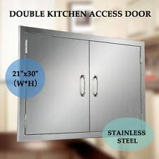 Stainless Steel Doors Outdoor Kitchens - stainless steel doors outdoor cooking u0026 eating ebay