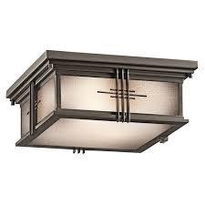 Square Ceiling Light Fixture by Best 25 Craftsman Outdoor Flush Mounts Ideas On Pinterest