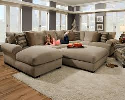 living room elegant comfy sectional sofas with additional