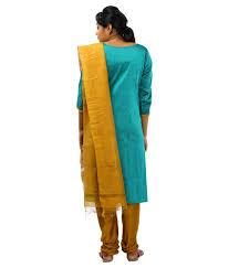 ziva maternity wear buy ziva maternity wear blue cotton salwar suit online at best