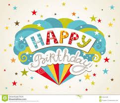 happy birthday greeting card royalty free stock photos image