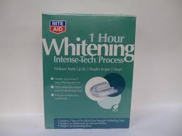 amazon com rite aid 1 hour whitening tooth whitening systems