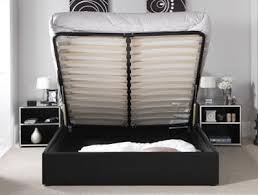 Leather Ottoman Bed Serene Tuscany Faux Leather Ottoman Bed Frame Buy Online At