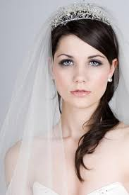 bridal updo hairstyles with veil short hair wedding updos with