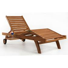 Teak Chaise Lounge Outdoor Chaise Lounge With Wheels Home Design Ideas