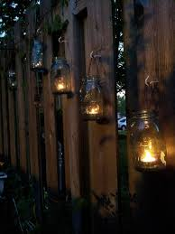 Solar Garden Tree Lights by Best 25 Fence Lighting Ideas Only On Pinterest Privacy Fence