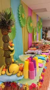 luau decorations 31 colorful luau party decor and serving ideas shelterness