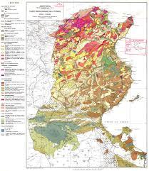 tunisia physical map impressum